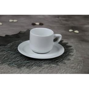 Tasse à café  9 cl avec sa sous-tasse