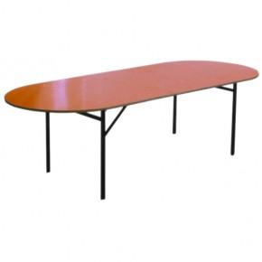 Table ovale pliante 12 pers